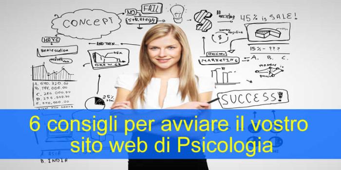 6 consigli per avviare il vostro sito web di Psicologia