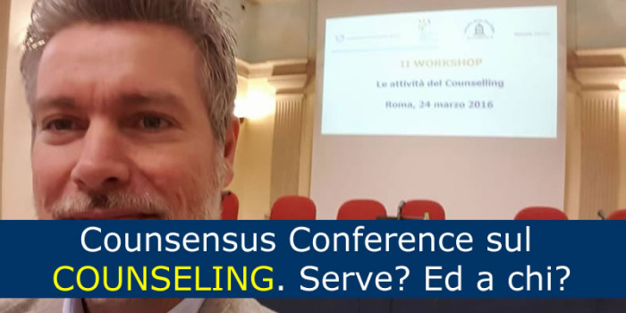 Counsensus Conference sul COUNSELING
