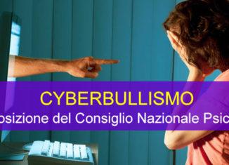 CYBERBULLISMO: la posizione del Consiglio Nazionale Psicologi