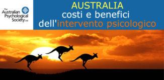 AUSTRALIA: costi e benefici dell'intervento psicologico