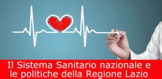 Il Sistema Sanitario nazionale e le politiche della Regione Lazio