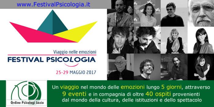 """Festival Psicologia 2017: sarà """"Viaggio nelle Emozioni"""""""
