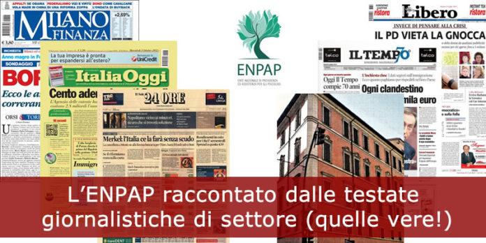 L'ENPAP raccontato dalle testate giornalistiche di settore (quelle vere!)