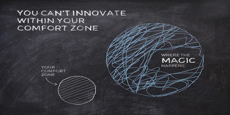L'efficacia del marketing professionale passa anche dalla capacità di uscire dalla tua zona di comfort