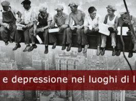 Ansia e depressione nei luoghi di lavoro determinano una perdita economica del 4-6% del PIL