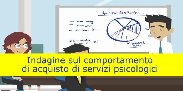 Indagine sul comportamento di acquisto di servizi psicologici